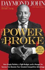 Must read books for entrepreneurs- The power of broke by Daymond John