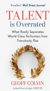 Must read books for entrepreneurs-Talent is overated by Goeff Colvin