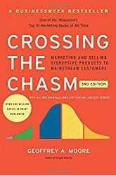 Must read books for entrepreneurs -Crossing The Chasm by Geoffrey Moore