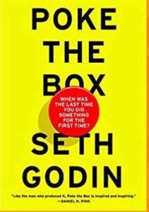 Must read books for entrepreneurs-Poke the Box by Seth Godin