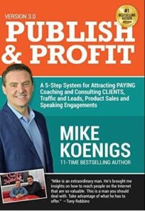 Must read books for entrepreneurs-Publish and Profit by Mike Koenigs