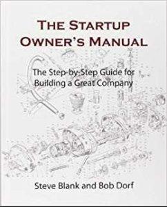 Must read books for entrepreneurs-The Startup Owner's Manual by Steve Blank & Bob Dorf