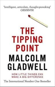 Must read books for entrepreneurs-The Tipping Point by Malcolm Gladwell