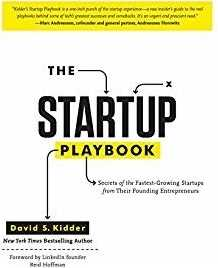 Must read books for entrepreneurs-The startup playbook by David S. Kidder